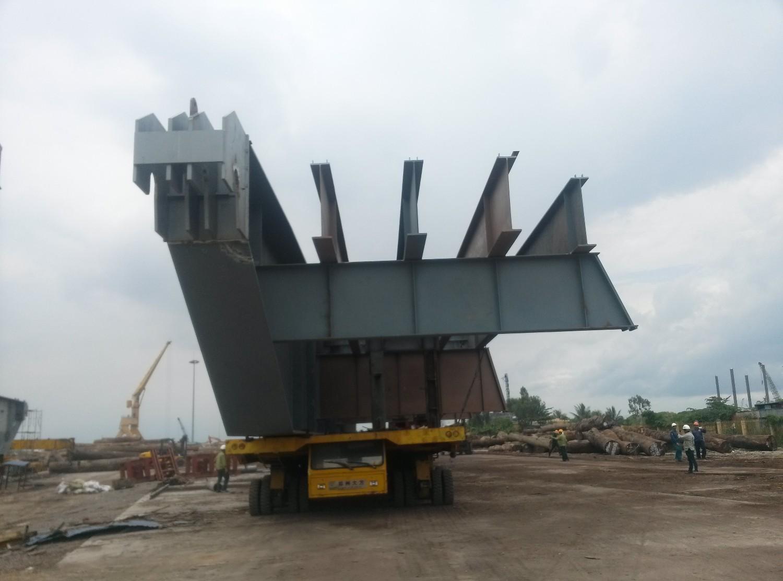 Công trình sàn nâng tàu-Nhà máy sửa chữa tàu biển Nosco-Vinalines