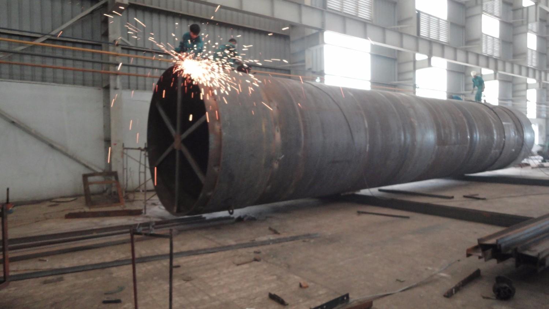 Thiết bị sấy thùng quay - Công trình Nhà máy NPK