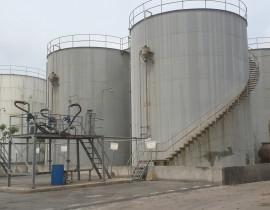 Lắp đặt Bồn bể axít và xút -Nhà máy Hoá chất Việt Trì